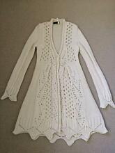 TWIN-SET Simona Barbieri cream maxi cardigan LIKE NEW small $90 Kingston South Canberra Preview