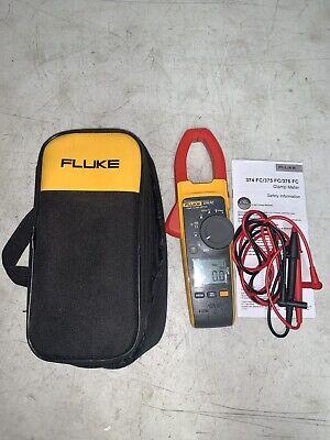 Fluke 374 Fc Trms Wireless Clamp Meter