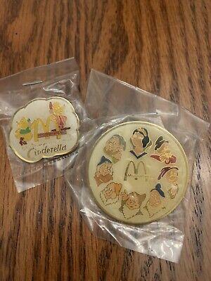 Vintage Pin of Worldwide Convention Orlando FL 1998 McDonalds Disney Characters