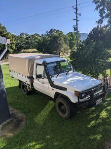 LandCruiser ute 1999 1hz diesel