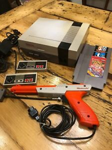 Nintendo entertainment system nes with x3 games