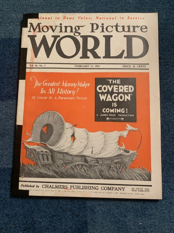 Moving Picture World magazine February 17, 1923