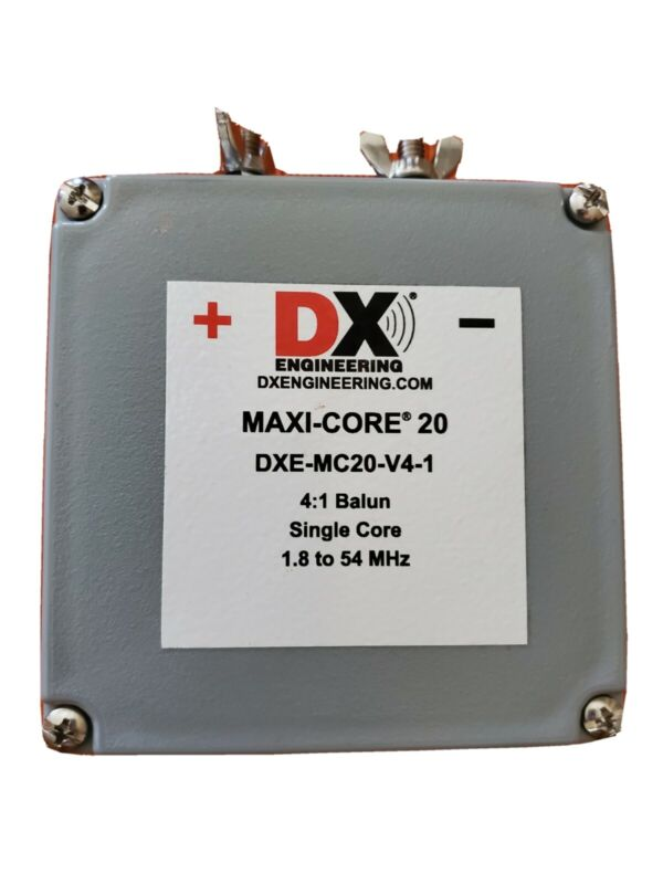 DX Engineering Maxi-Core 20 4:1 Balun Single Core 1.8 to 54 Mhz DXE-MC20-V4-1