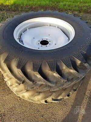 Set Of 2 Wheels Titan 18.4xr34 Tires For John Deere