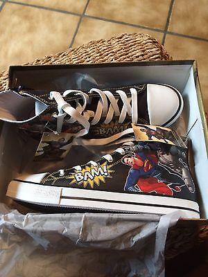 Batman V Superman Schuhe / Sneakers  Gr. 37 Dc Comics / Turnschuhe