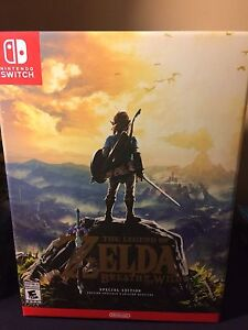 The Legend of Zelda Breath of the Wild Special Edition Switch