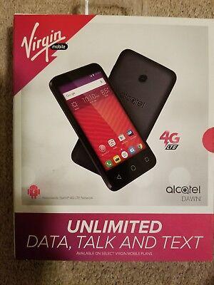 Virgin Mobile Alcatel Dawn    New In Box