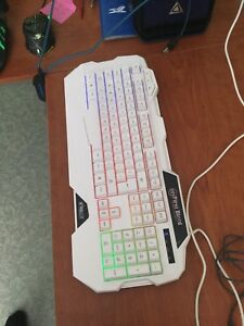 Keyboard and mouse (wired)