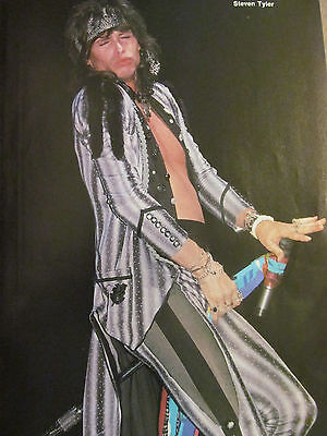 Aerosmith, Steven Tyler, Full Page Vintage Pinup