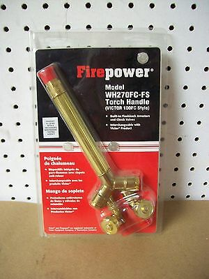 Firepower Torch Handle Victor 100fc Style