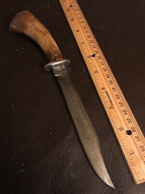 "Authentic William W. "" Bill "" Scagel Custom Knife Abercrombie & Fitch Marked"
