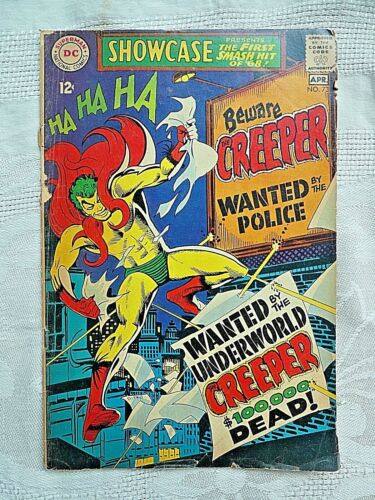 SHOWCASE #73 (DC 1968) 1st Appearance CREEPER. Steve Ditko. Ungraded