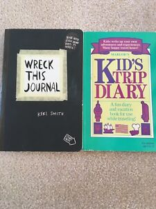 Books to write in for kids