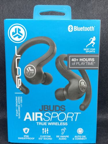 JLab Audio JBuds Air Sport In-Ear Wireless Headphones - Blac