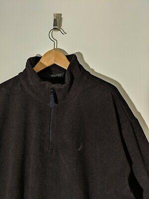 Nautica black 1/4 zip fleece XXL