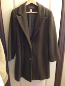 Lovely Brown wool  Chadwick Coat