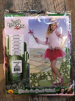 Glinda The Good Witch Childrens Costume (~NEW~ Wizard of Oz Glinda The Good Witch Hoodie Dress Costume,Child)