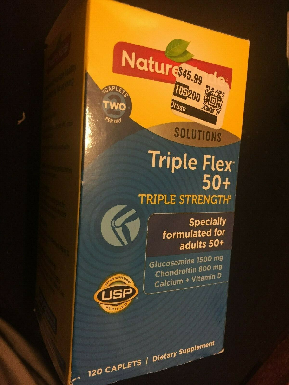 Nature Made TripleFlex Triple Strength 50+ Caplet  Value Siz