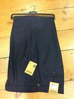 Farah Elastic Side Adjuster Trousers/navy - 52/31 (263205) - farah - ebay.co.uk