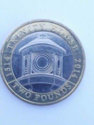 2014 Trinity House £2 Two Pound Coin Circulated