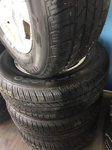245/65R17 Chevy rims and tires