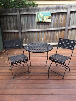 Wrought Iron Outdoor Setting 2 Seater Part 94