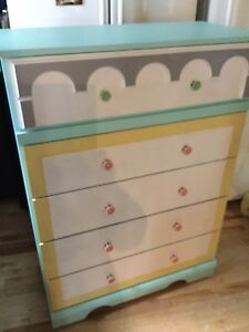 Tall flower shop inspired dresser -