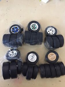 Car Kit wheels for 1/25 and/or 1/24