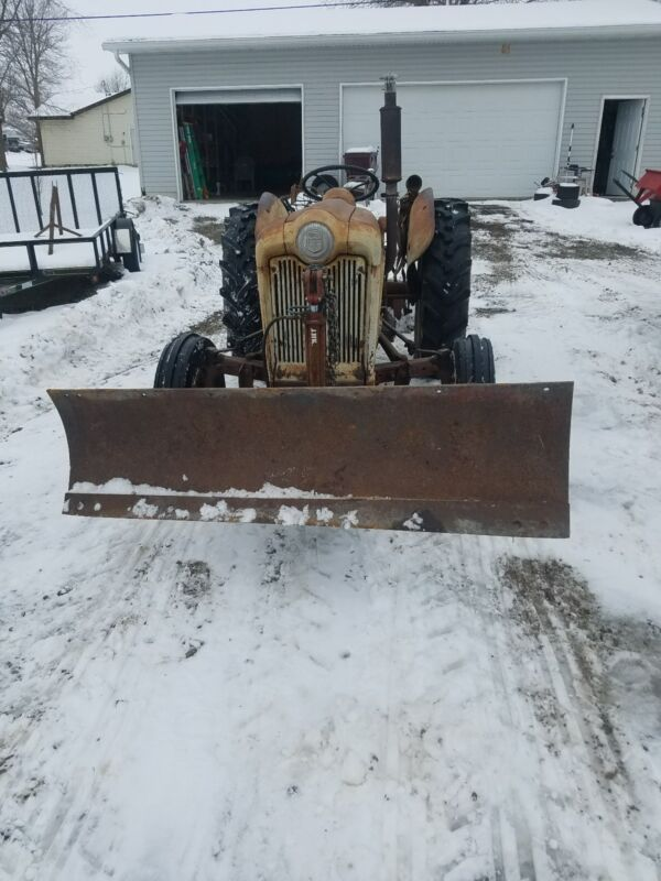 Ford Tractor Snowplow jubilee and hundred series