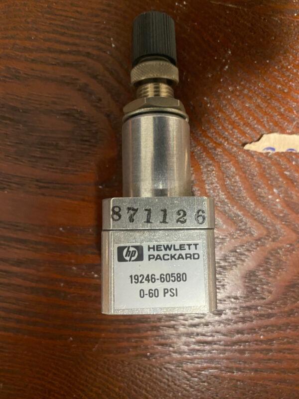 Agilent   HP  19246-60580,  Back Pressure Regulator 0-60 psi