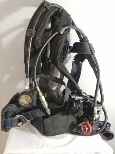 Survivair Panther 1997 SCBA CBRN Harness, Regulator, Sensors And Frame. No Tank