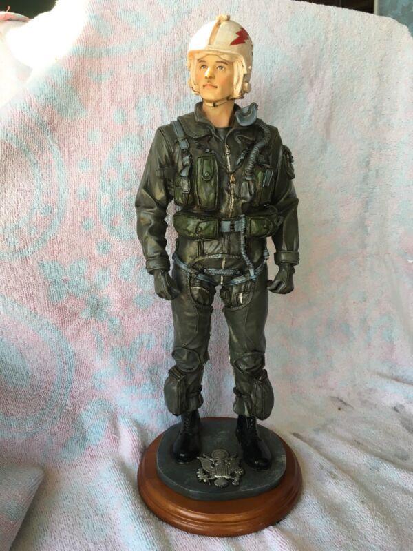 """New VANMARK American Heroes """"Air Ace"""" large pilot figurine"""