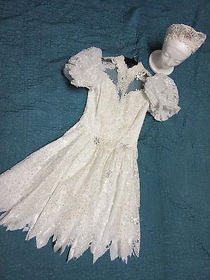 Queen Fairy Costume (FROZEN Anna FAIRY fantasy dress COSTUME size 4 cosplay adult unique winter)