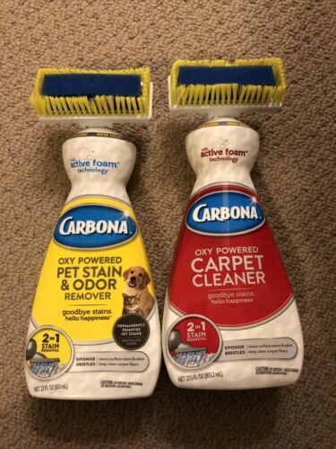 Carbona Oxy-Powered 2-in-1 Carpet Cleaner 27.5 Ounces, Pet 2