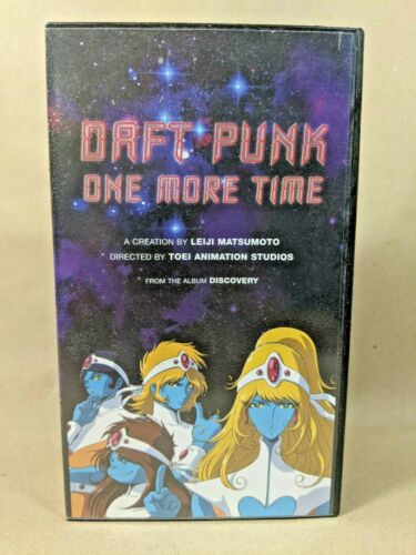 Daft Punk - One More Time VHS Anime Video Promo RARE
