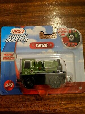 Thomas & Friends Track Master Push Along Metal Engine LUKE NEW ON CARD