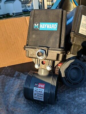 Hayward Ea2 Electric Actuator True Union Ball Valve 2 Cpvc Eau2924d Edpm Nsf