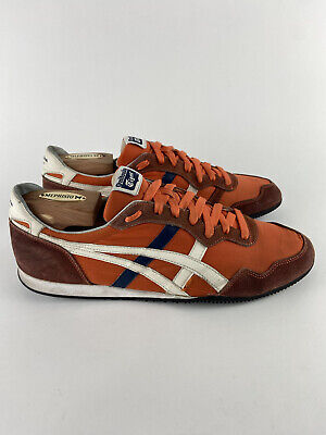 Onitsuka Tiger - D109L - Orange - Mens Size 11 Classic Tennis Shoes -pls. Read