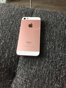 I phone SE unlocked great condition rose gold
