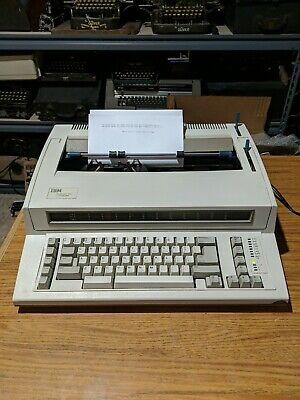 Ibm Wheelwriter 1000 By Lexmark Electronic Typewriter