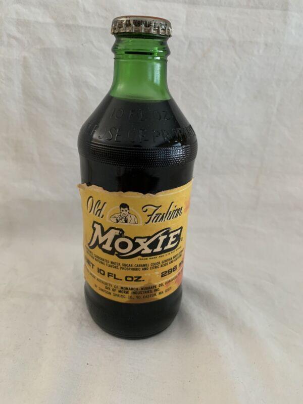 Vintage Old Full Moxie Bottle