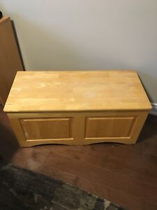 Storage Box, wrought iron stand and table