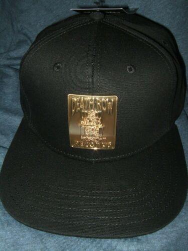 Death Row Records Rap Hip Hop Dr. Dre Snapback Baseball Hat Tupac West Coast NWA
