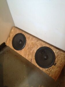 "Subwoofer 2x12"" pour pickup simple cab"