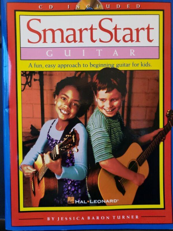 Hal Leonard SmartStart Guitar (Book/CD) Method Lesson Book CD included