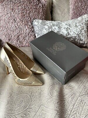 Vince Camuto Gold Shoes