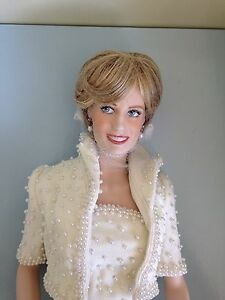 Diana Princess of Wales Franklin Mint Doll Dover Heights Eastern Suburbs Preview