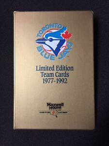 Toronto Blue Jays Limited Edition Team Cards