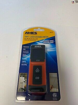 Ames 100ft. Laser Distance Meter Ldm-30 New Fast Shipping
