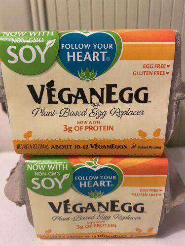 2 Boxes VeganEgg Plant Based Egg Replacer Egg Powder Vegan Eggs - $10.80